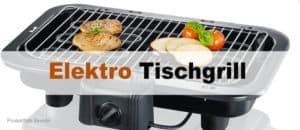 Elektro Tischgrill