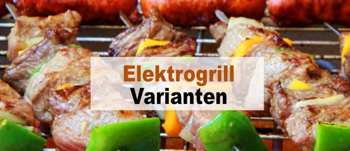 Elektrogrill Varianten