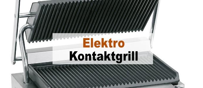 Elektro Kontaktgrill